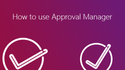 proRM - Approval Manager