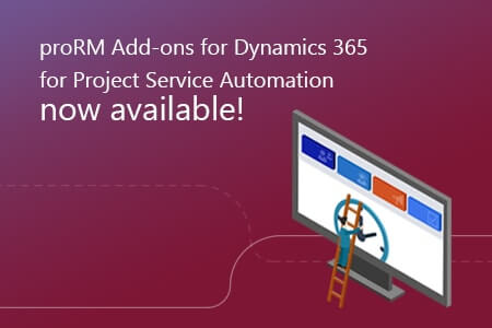 proRM Add-ons for Dynamics 365 now available