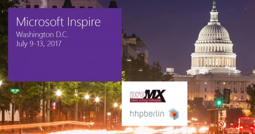 Microsoft Inspire 2017: proMX featured in Vision Keynote